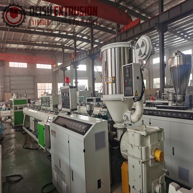 20mm-63mm Plastic pipe machine PP PE HDPE pipe making machine line