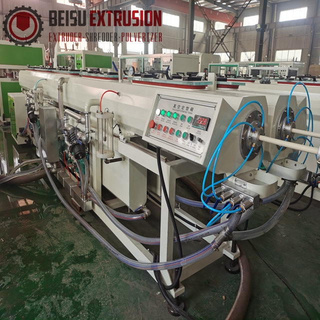 UPVC CPVC Plastic Extruder Small PVC Electric conduit Pipe Extrusion Line