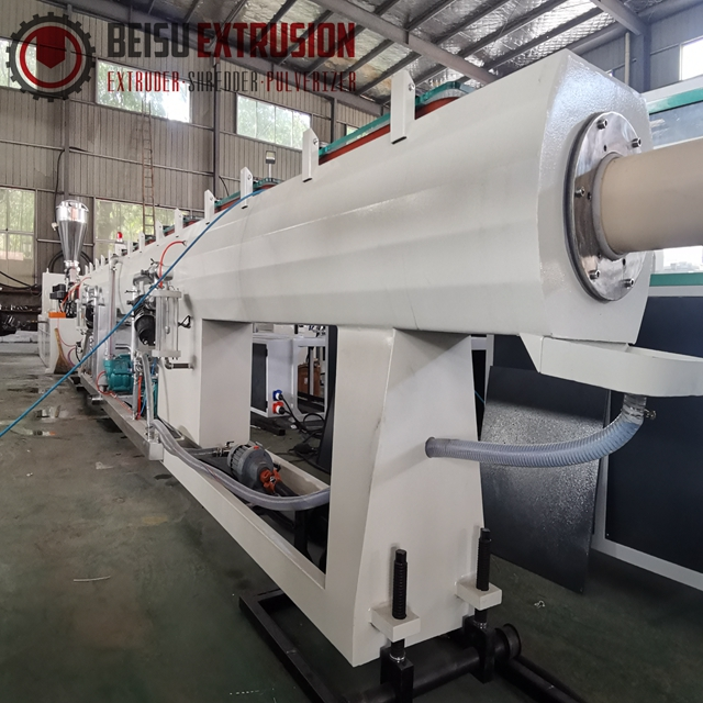 50mm-250mm Plastic PVC pipe making machine for water supply and drainage